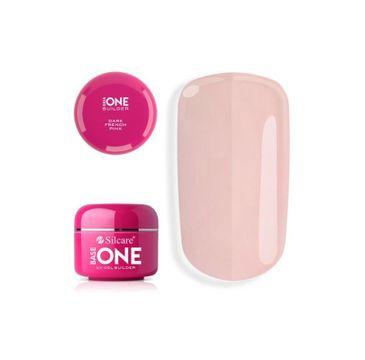 Silcare Gel Base One French Pink Dark żel budujący do paznokci (15 g)