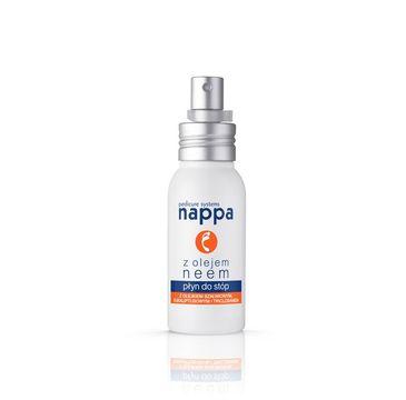 Silcare Nappa Liquid przeciwgrzybiczny płyn do stóp z olejem neem 55ml