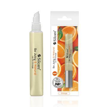 Silcare Quin So Juicy & Natural Lip Oil olejek do ust Orange (10 ml)