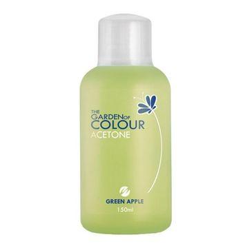 Silcare – The Garden of Colour Acetone aceton do usuwania żelowych lakierów hybrydowych Green Apple (150 ml)