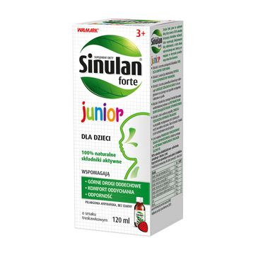 Sinulan Forte Junior syrop wspomagający odporność dla dzieci suplement diety (120 ml)