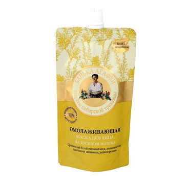 Bania Agafii – maska do twarzy na mleku łosia odmładzająca (100 ml)