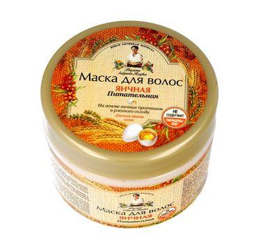 Receptury Babci Agafii – maska do włosów jajeczna (300 ml)