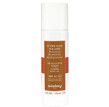 Sisley Super Soin Solaire Summer Body Oil SPF15 olejek ochronny do ciała 150ml