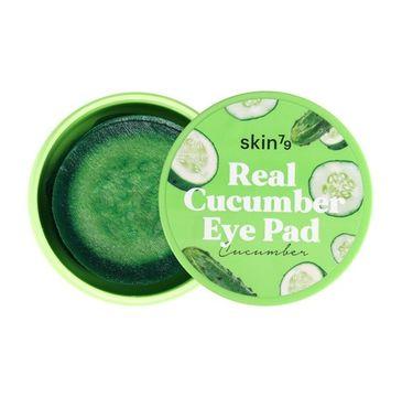 Skin79 – Real Cucumber Eye Pad ogórkowe płatki nawilżająco - kojące na oczy (35 g)