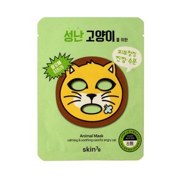 Skin 79 Animal Angry Cat maska 1 szt