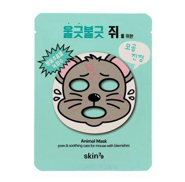 Skin 79 Animal Mask Mouse maska w płacie na twarz 23 g
