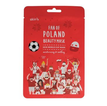 SKIN 79 Fan of Poland maska w płacie 2018 World Cup nawilżająco-kojąca 1 szt.