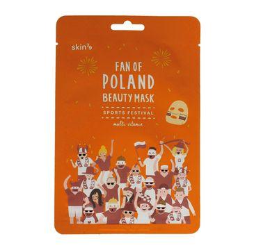 Skin 79 Fan of Poland maska w płacie Sports Festival multiwitaminowa 1 szt.