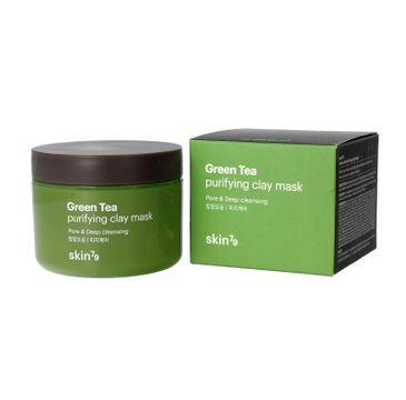 Skin 79 Green Tea Purifying Clay maska oczyszczająca do twarzy z zieloną herbatą 95 ml