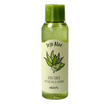 Skin 79 Jeju Aloe Aqua toner nawilżająco-wygładzający do twarzy z aloesem 150 ml