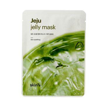 Skin 79 Jeju Jelly Mask Skin Soothing maska do każdego rodzaju cery w płacie kojąca 33 ml