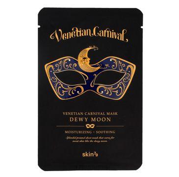 Skin 79 Venetian Carnival Mask Dewy Moon maska do twarzy w płacie nawilżająco-kojąca 23 g