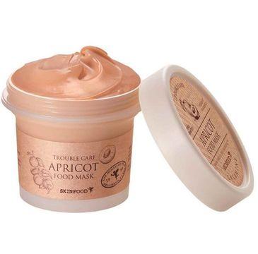 SkinFood Apricot Food Mask oczyszczająco-łagodząca maska z ekstraktem z brzoskwini (120 g)