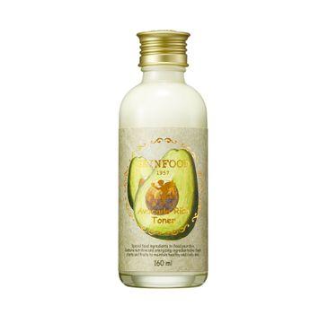 Skinfood Avocado Rich Toner tonik do twarzy z organicznym awokado (160 ml)