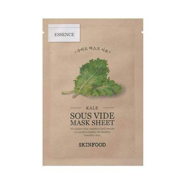 SkinFood Kale Sous Vide Mask Sheet odświeżająco-nawilżająca maseczka w płachcie (22 g)