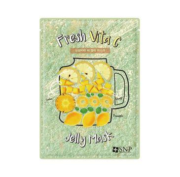 SNP Fresh Vita C Jelly Mask rozjaśniająca maska w płachcie (33 ml)
