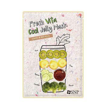 SNP Fresh Vita Cool Jelly Mask chłodząco-łagodząca maska w płachcie (33 ml)