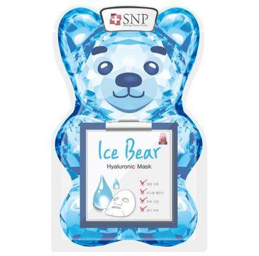 SNP Ice Bear Hyaluronic Mask chłodząco-nawadniająca maska w płachcie (33 ml)