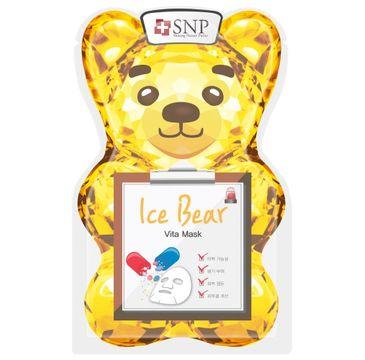 SNP Ice Bear Vita Mask chłodząco-rewitalizująca maska w płachcie (33 ml)