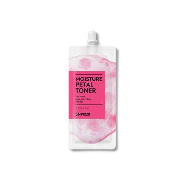 SNP Mini Moisture Petal Toner nawilżający tonik z płatkami różowych kwiatów (25 ml)