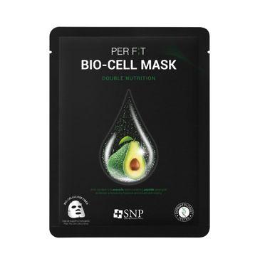SNP Per Fit Bio-Cell Mask Double Nutrition intensywnie odżywcza maska w płachcie z biocelulozy (25 ml)