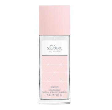 s.Oliver So Pure Women dezodorant w naturalnym sprayu (75 ml)