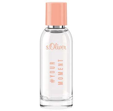 s.Oliver #YourMoment Women woda toaletowa spray (50 ml)