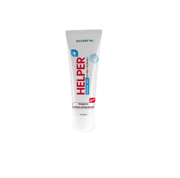 Solverx – Helper Żel-Krem antybakteryjny kompleks z mikrosrebrem (100 ml)