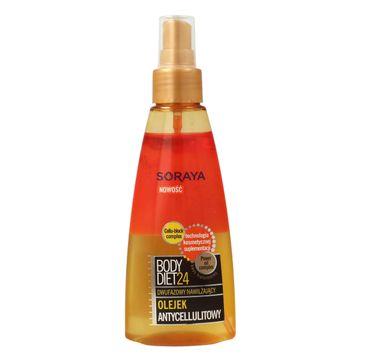 Soraya Body Diet 24 olejek do ciała 2-fazowy antycellulitowy 150 ml