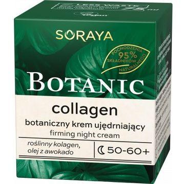 Soraya – Botanic Collagen 50-60+ botaniczny krem ujędrniający na noc (75 ml)