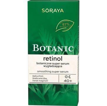 Soraya – Botanic Retinol 40+ botaniczne super serum wygładzające (30 ml)