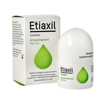 Etiaxil – Antyperspirant roll-on Comfort (15 ml)