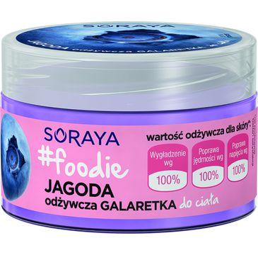 Soraya Foodie Jagoda galaretka do ciała odżywcza 200 ml