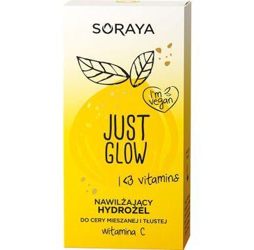 Soraya Just Glow Nawilżający Hydrożel do cery mieszanej i tłustej z witaminą C (50 ml)