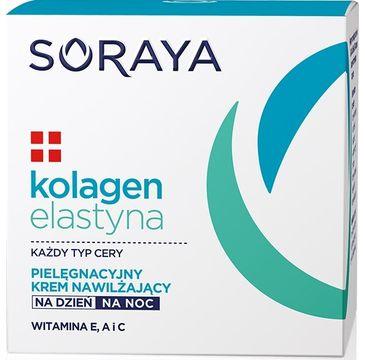Soraya Kolagen Elastyna pielęgnacyjny krem nawilżający na dzień i noc 50 ml