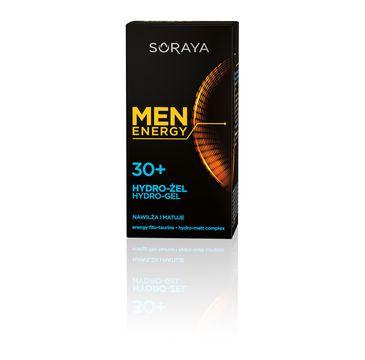 Soraya Men Energy 30+ Nawilżający Hydro-żel do twarzy 50 ml