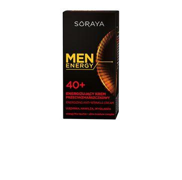 Soraya Men Energy energizujący krem przeciwzmarszczkowy 40+ 50 ml