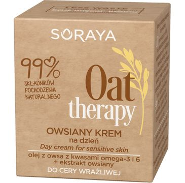 Soraya – Oat Therapy Owsiany Krem na dzień do cery wrażliwej (75 ml)