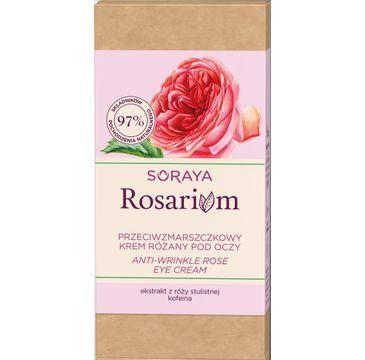Soraya – Rosarium Przeciwzmarszczkowy krem pod oczy Różany (15 ml)
