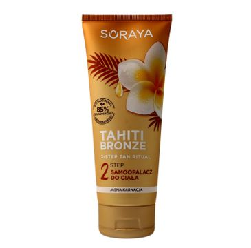 Soraya Tahiti Bronze 2 Step samoopalacz do ciała - jasna karnacja 200 ml