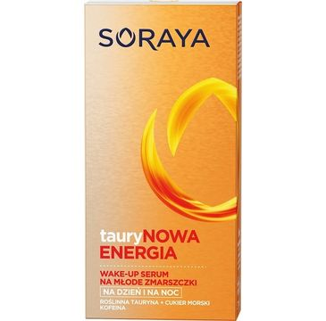 Soraya Taurynowa Energia Wake-up serum do twarzy na dzień i noc na młode zmarszczki 30 ml