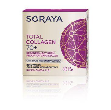 Soraya Total Collagen 70+ krem regenerujący - reduktor zmarszczek na dzień i noc  50 ml