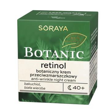 Soraya – Botanic Retinol 40+ botaniczny krem przeciwzmarszczkowy na noc (75 ml)