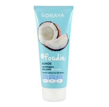 Soraya #foodie Kokos balsam nawilżający do ciała (200 ml)