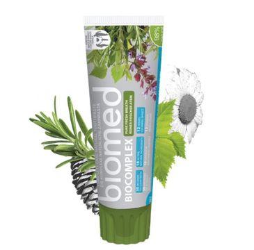 Biomed Biocomplex Complete Care Natural Toothpaste odświeżająca pasta do zębów 100g