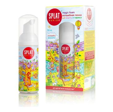 Splat Junior Magic Oral Care Foam pianka do pięlęgnacji jamy ustnej 50ml