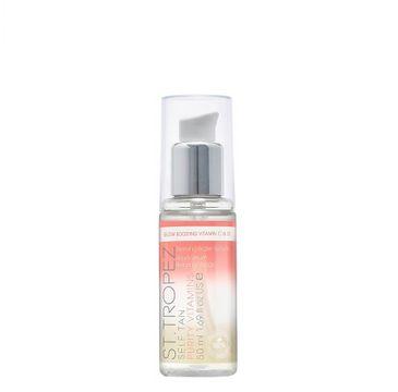 St. Tropez Self Tan Purity Vitamins Bronzing Water Serum bezbarwny żel samoopalający do twarzy (50 ml)