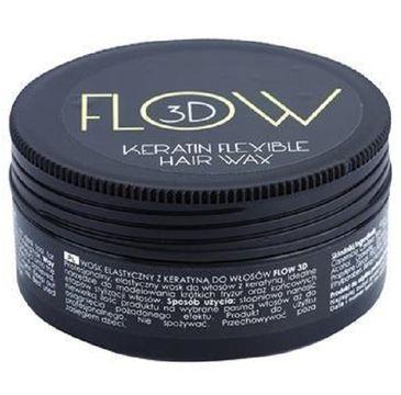 Stapiz Flow 3D Keratin Flexible Hair Wax elastyczny wosk do włosów z keratyną 100g