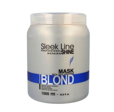 Stapiz Sleek Line Blond maska do włosów 1000 ml